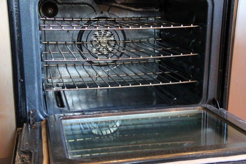 open clean oven